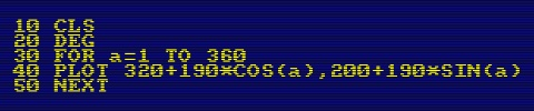 Amstrad CPC6128 - Lines of code