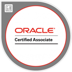 Oracle Certified Associate Badge